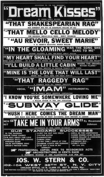 Variety Stern ad 10-25-1912
