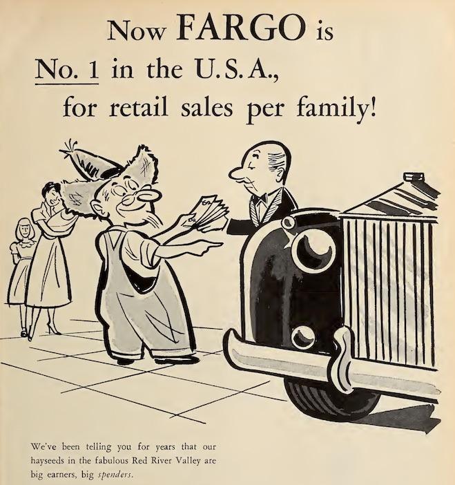 Fargo sales ad 1957